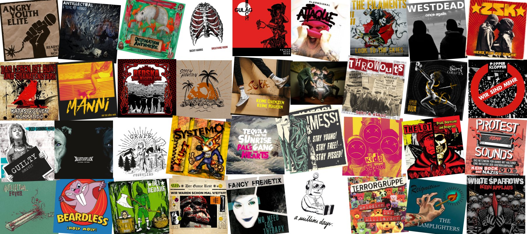 Playlist 2019 Once Upon a Punk