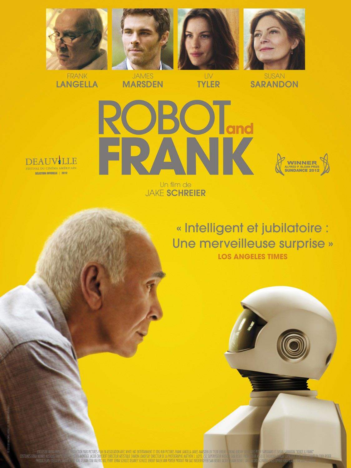 Robot and Frank affiche