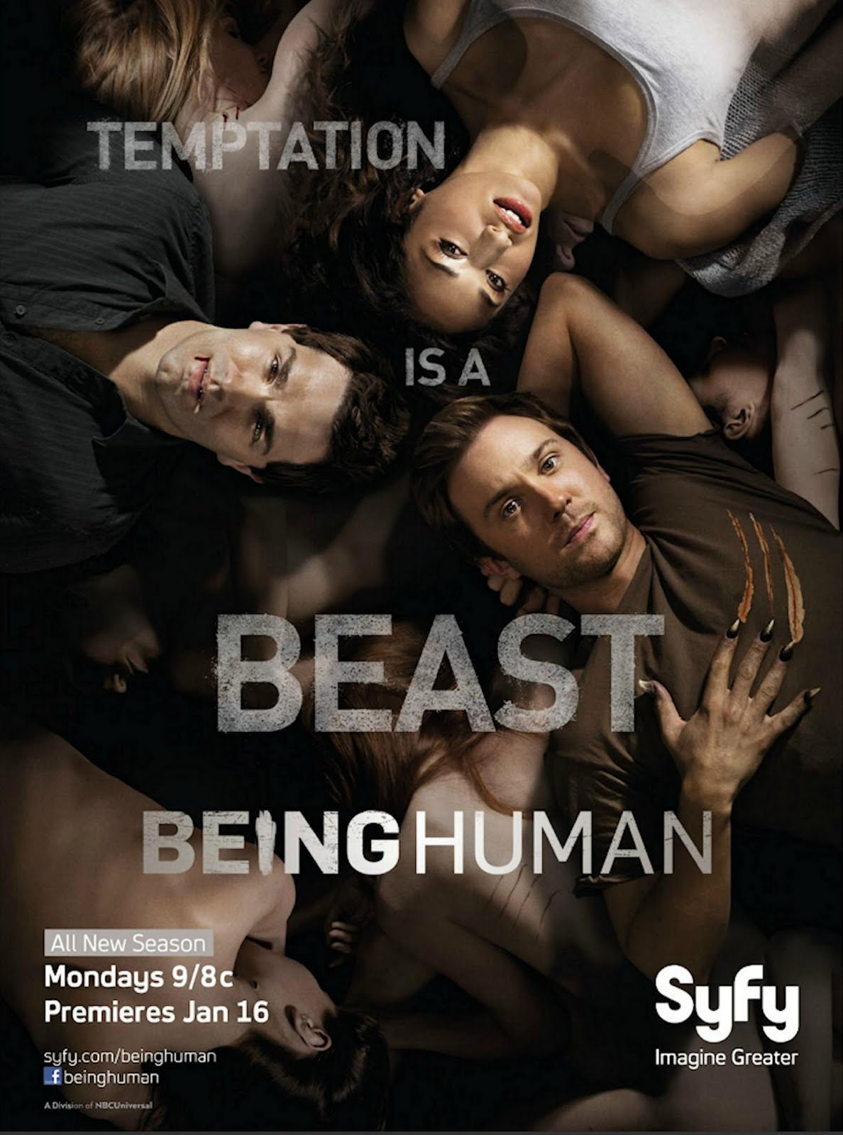 Being Human (US) [Saison 03 french] [E01 a 13] HDTV + HD