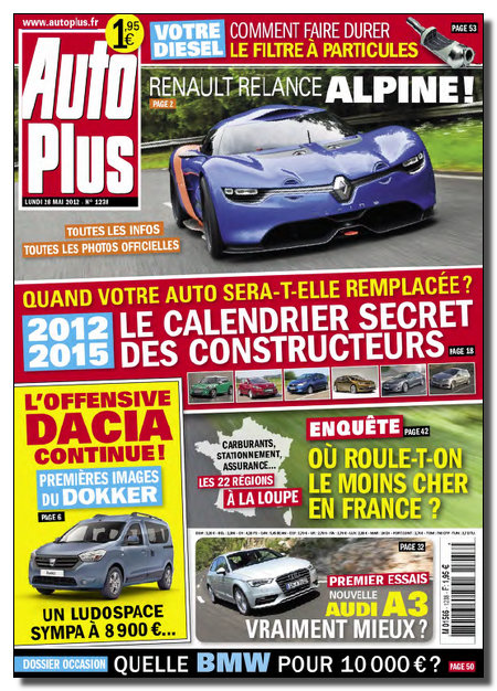 Auto Plus N°1238 - 28 Mai au 03 Juin 2012 [NEW/HQ/SsTags/MULTI]
