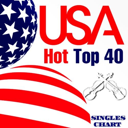 USA Hot Top 40 Singles Chart 17 March (2013)