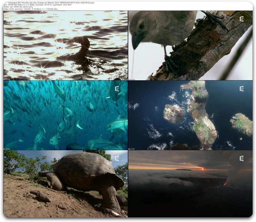 Galápagos E01-E03 FiNAL [FRENCH] [HR PDTV] [MULTI]