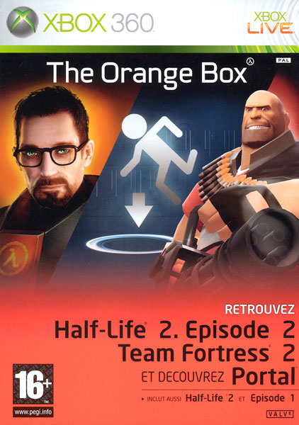 Half Life 2 The Orange Box [PAL XBOX360]