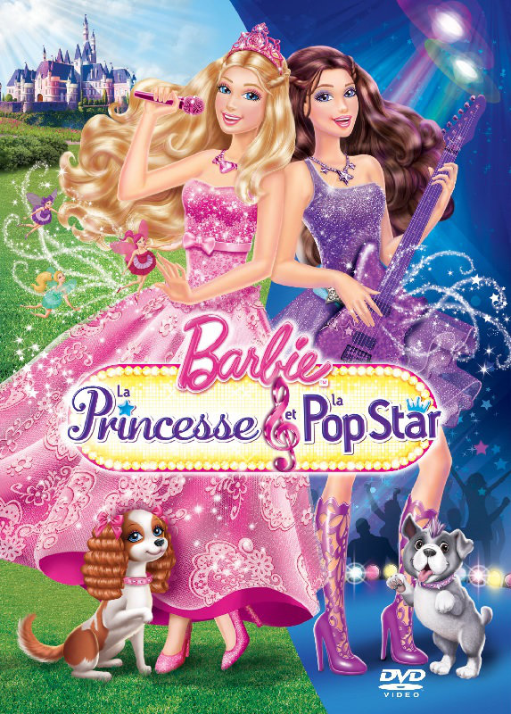Barbie, la princesse et la popstar | FRENCH MP4 | DVDRiP | MULTI