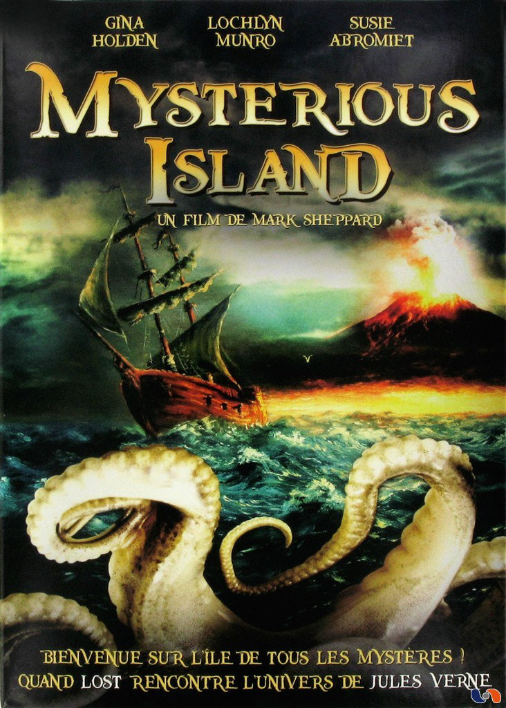 Mysterious Island affiche