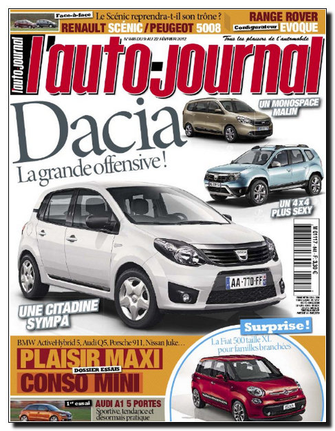 L'Auto Journal N�848 - 09 au 22 F�vrier 2012 [NEW/HQ/UL]