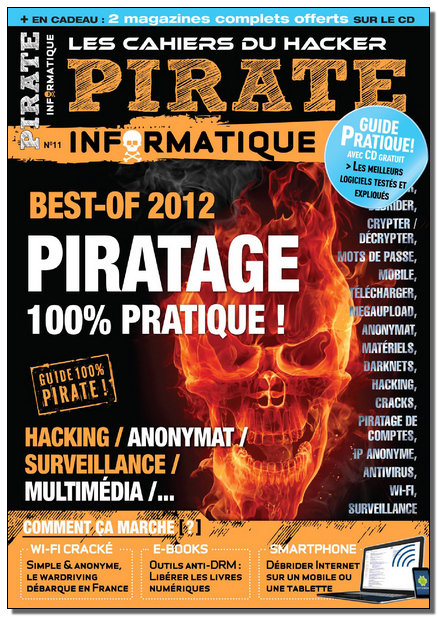 Pirate Informatique N°11 - Nov 2011-Janvier 2012 [HQ/SsTags/FS]