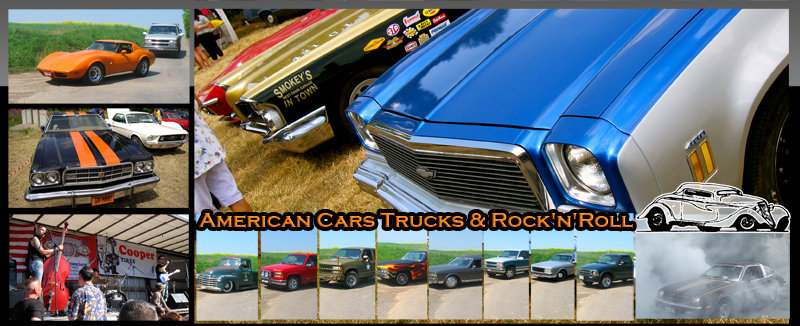 American cars, trucks, bikes & Rock'n'Roll