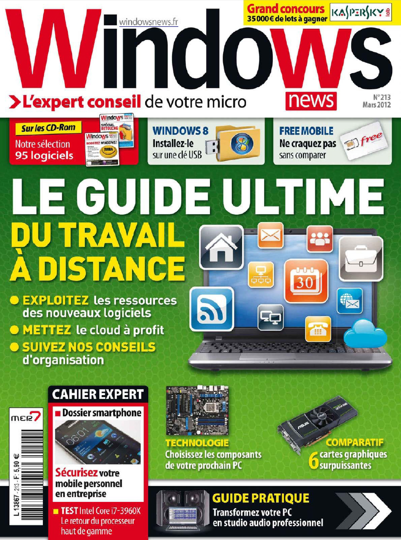 Windows News N213 Mars - 2012 [RG]