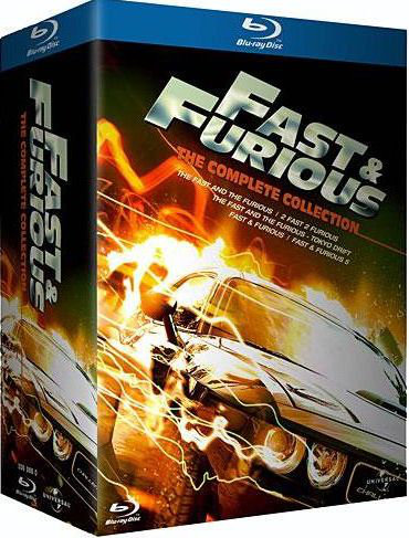 Fast and Furious : Penthalogie| Multi | Blu-Ray 1080p