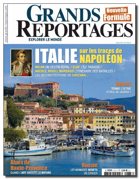 Grands Reportages N°367 - Mai 2012 [NEW/HQ/SsTags/RG]