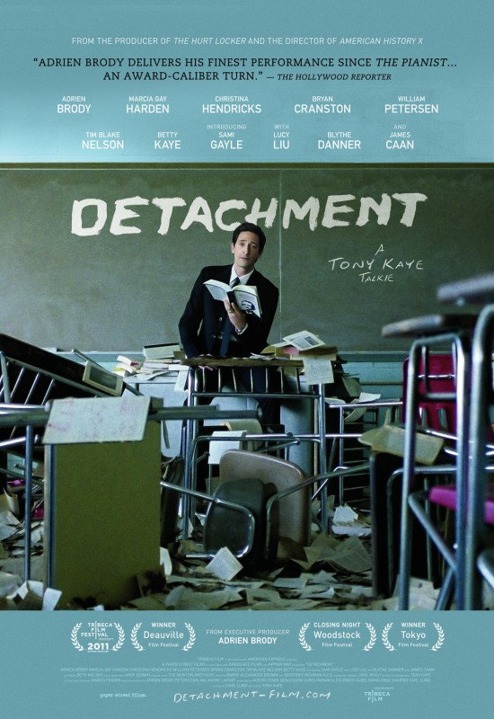 Detachment (2012) [MULTI][DVDR] PAL
