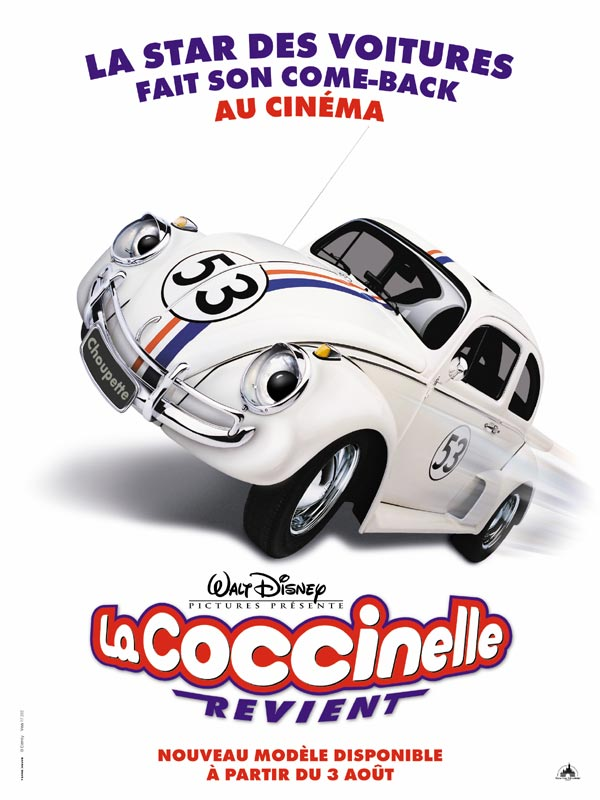 La Coccinelle revient [FRENCH] [DVDRiP] [RG]