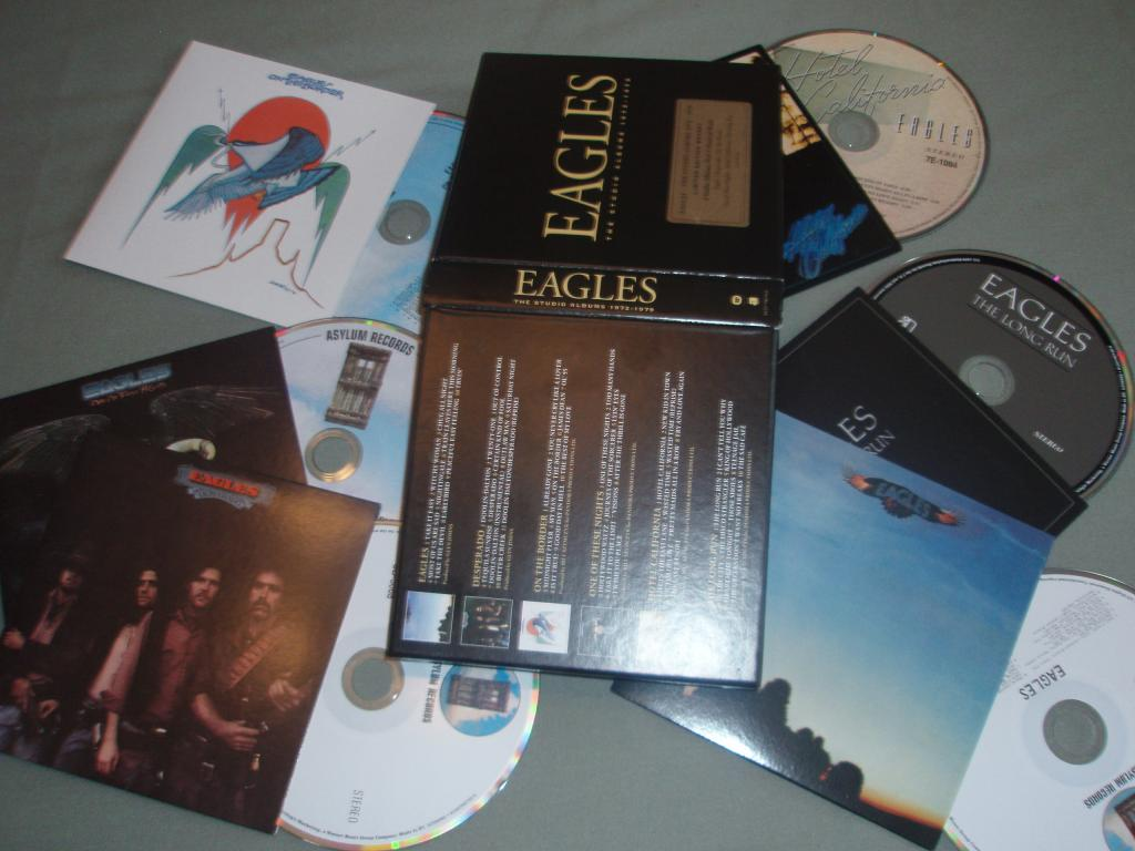 Eagles - The Studio Albums (1972-1979) Limited Edition [Multi]