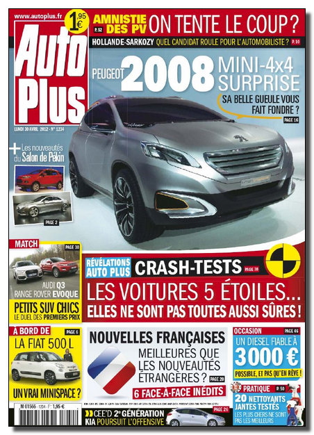 Auto Plus N°1234 - 30 Avril au 05 Mai 2012 [NEW/HQ/SsTags/MULTI]