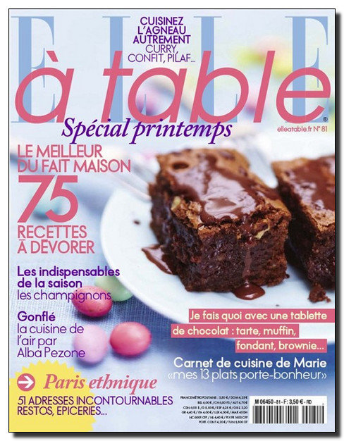 Elle A Table N°81 - Mars-Avril 2012 [NEW/SsTags/UL]