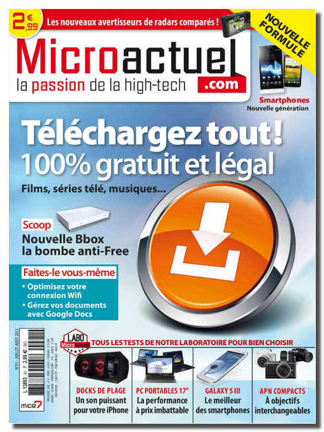 Micro Actuel N°91 - Juill-Aout 2012 [NEW/HQ/SsTags/MULTI]