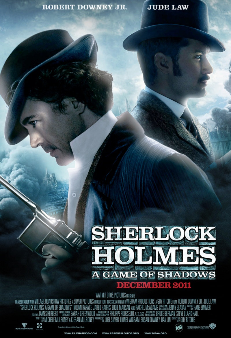 Sherlock Holmes 2 : Jeu d'ombres [BRRiP | FRENCH AC3 & SUBFORCED] [MULTI]