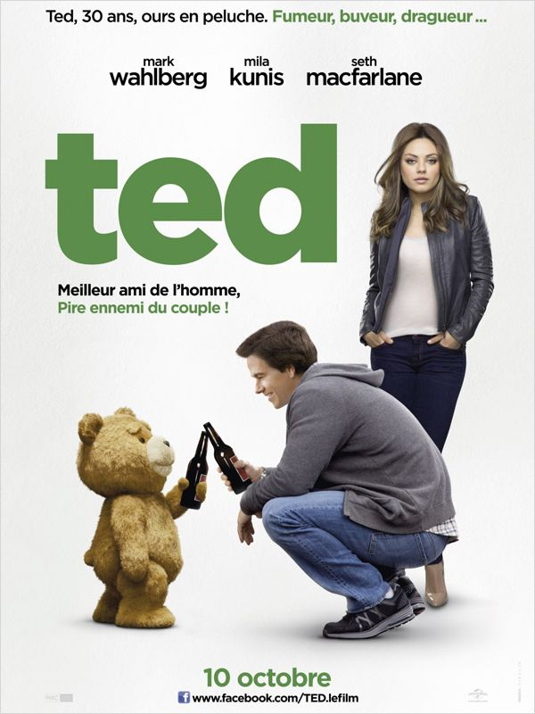 Ted [FRENCH] [BDRip] 1 CD + [BRRIP] Ac3