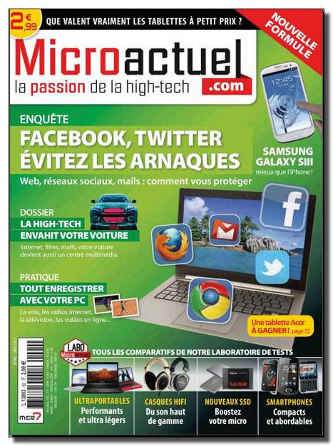 Micro Actuel N°90 - Juin 2012 [NEW/HQ/SsTags/MULTI]