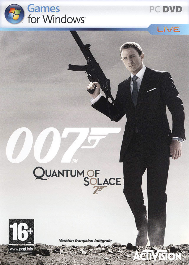 James Bond 007 : Quantum of Solace [PC]