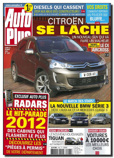 Auto Plus N°1223 - 13 au 19 Fevrier 2012 [NEW/HQ/UL]