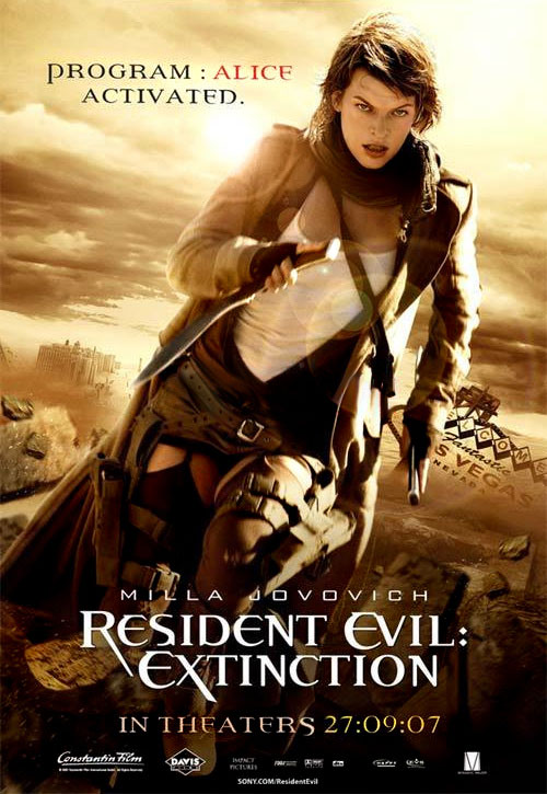 Resident Evil Extinction [TRUEFRENCH BRRiP XViD AC3] [MULTi]