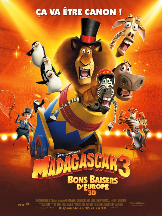 Madagascar 3, Bons Baisers D'Europe [FRENCH] [BDRip] AC3