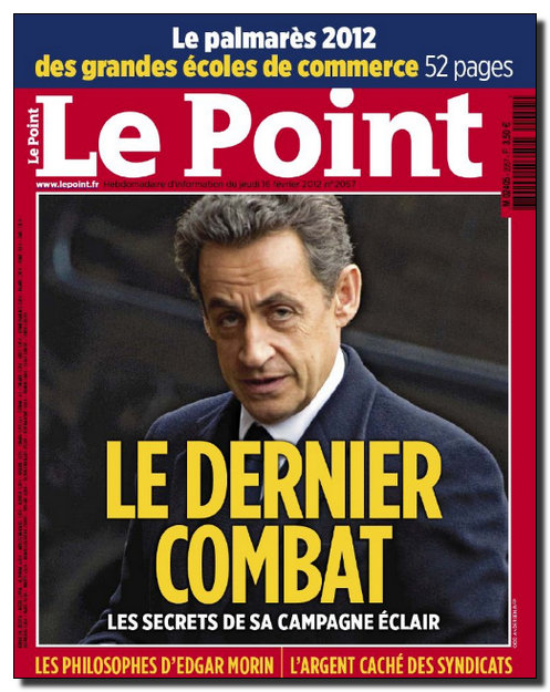 Le Point N°2057 - du 16 au 22 Février 2012 [NEW/HQ/UL]