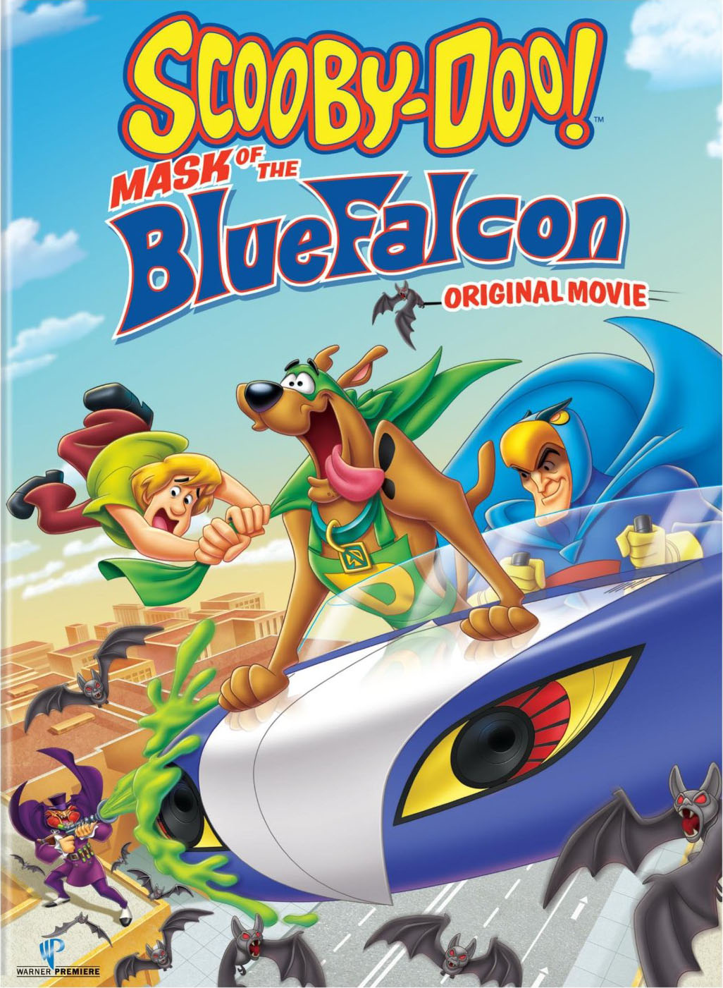 [MULTI] Scooby-Doo! Mask of the Blue Falcon [DVDRiP] [MP4]