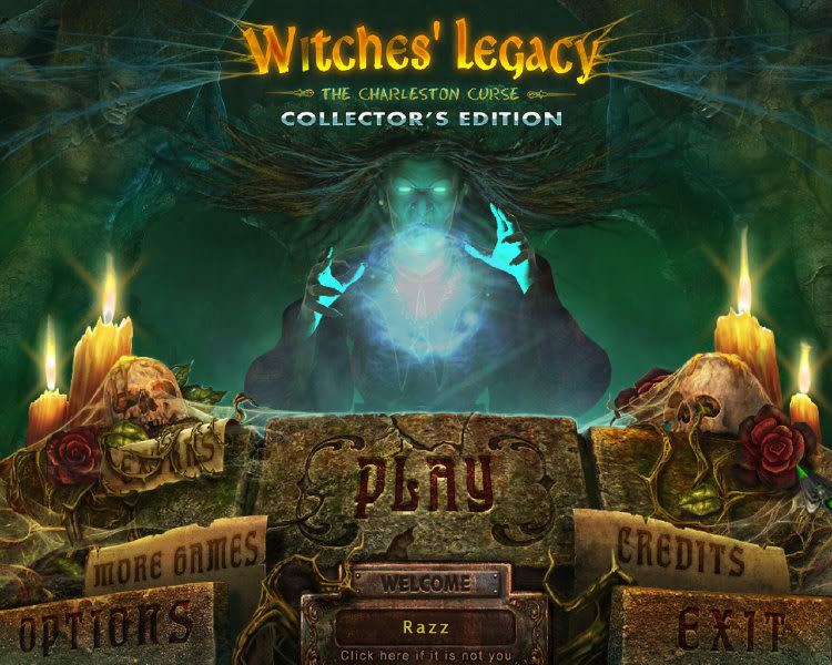 Witches' Legacy: La Malédiction des Charleston Edition Collector [PC MULTi]