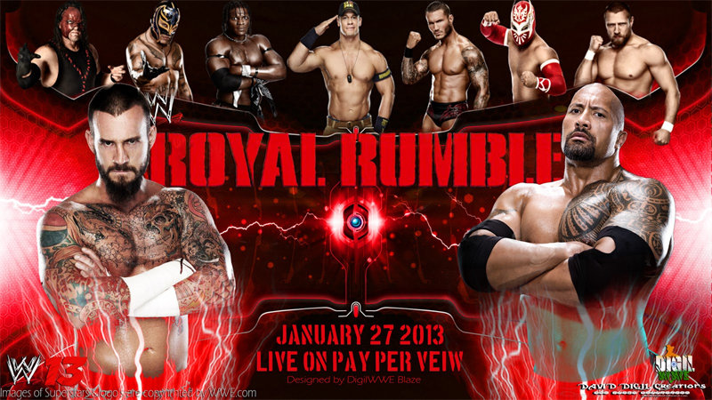 WWE Royal Rumble 2013 (Exclue) [HDTV] [Multi]