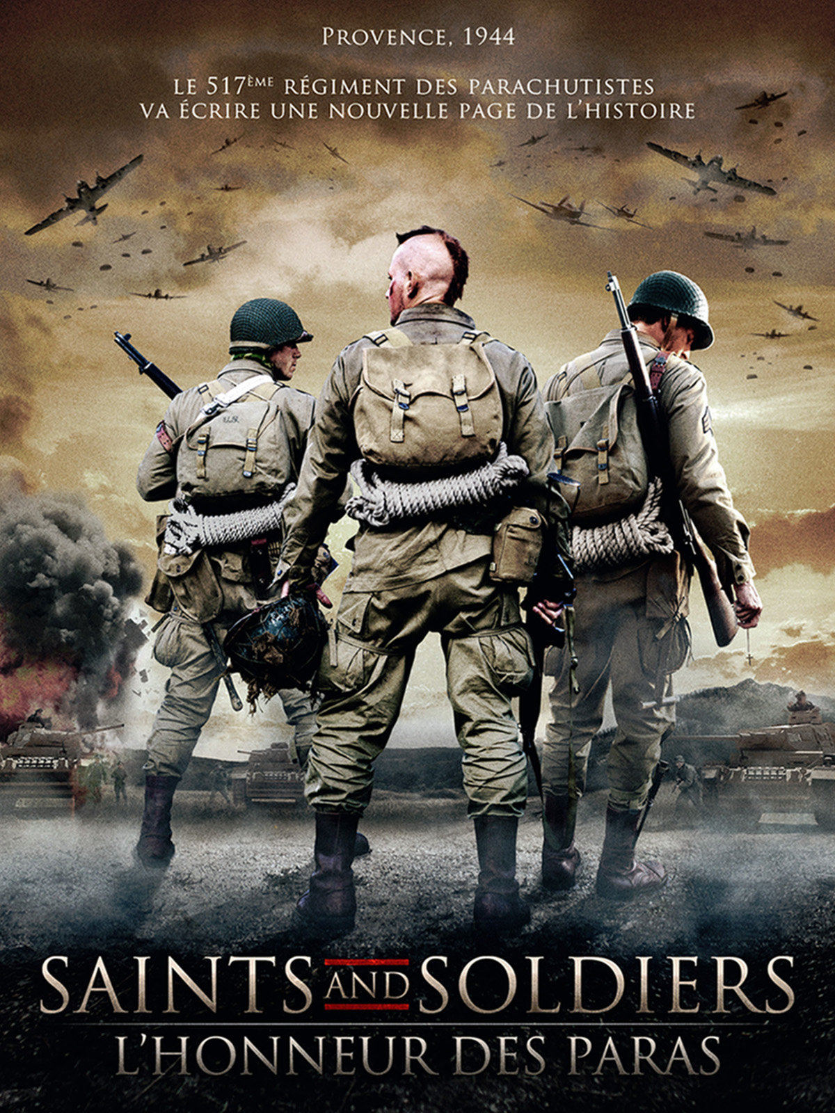 Saints and Soldiers : L'honneur des Paras affiche