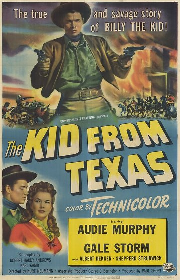 The Kid from Texas affiche