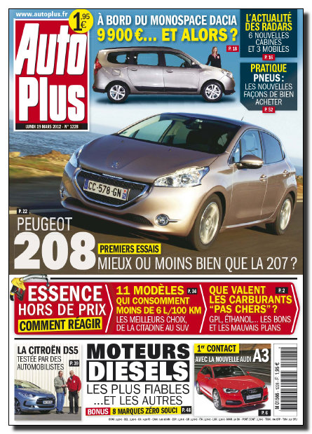 [UP.TO] Auto Plus N°1228 - 19 au 25 Mars 2012