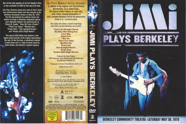 Jimi Hendrix - Jimi plays Berkeley [MULTI]