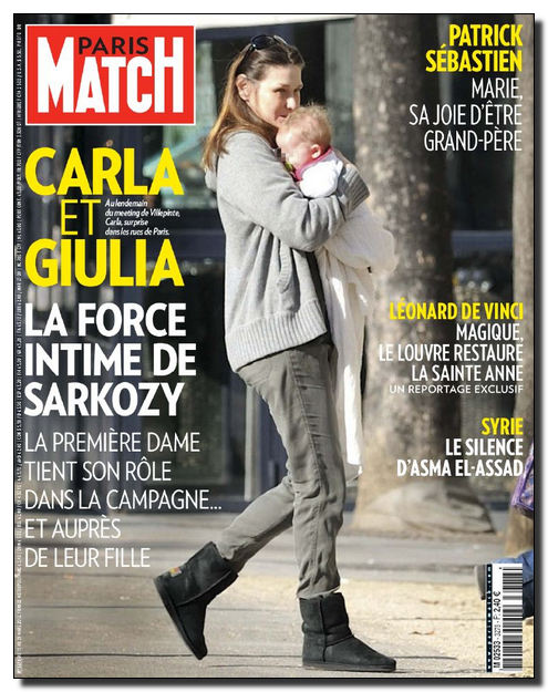 Paris Match N°3278 - 15 au 21 Mars 2012 [NEW/SsTags/HQ/UL]