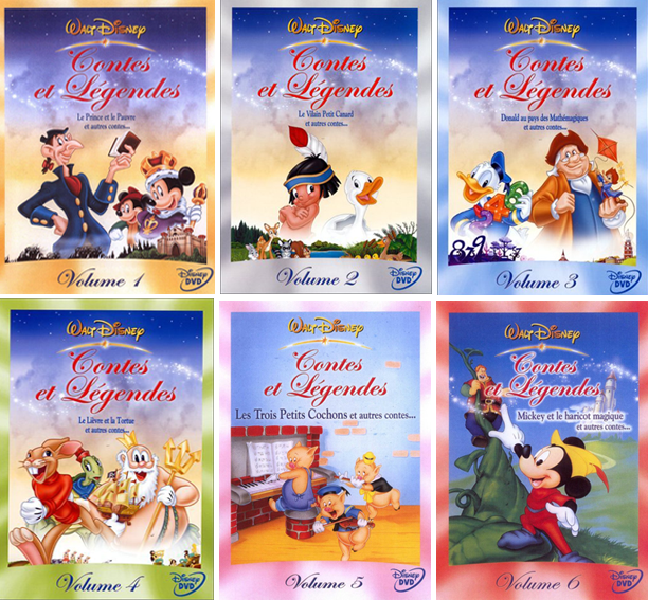 Disney : Contes et Légendes iNTEGRALE [FRENCH | DVDRiP AC3]