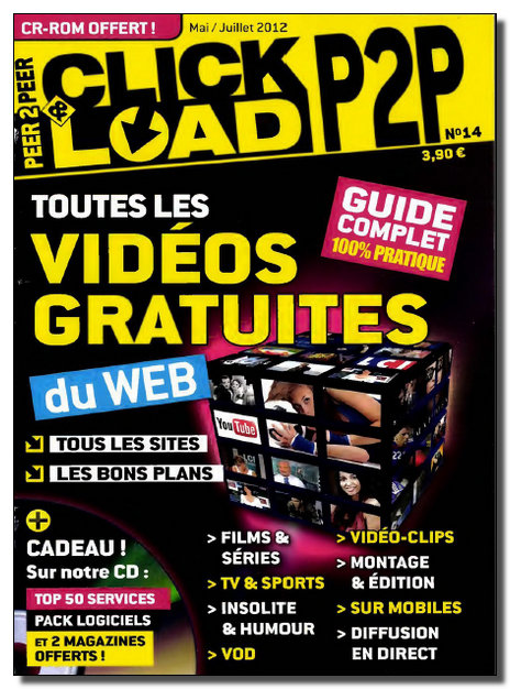Click & Load P2P N°14 - Mai-Juin-Juillet 2012 [NEW/SsTags/MULTI]