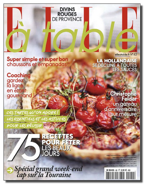 Elle à Table N°82 - Mai-Juin 2012 [NEW/HQ/SsTags/MULTI]