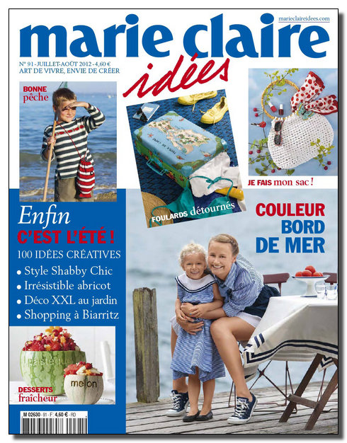 Marie Claire Idées N°91 - Juillet-Aout 2012 [New/Opti/SsTags/Multi]