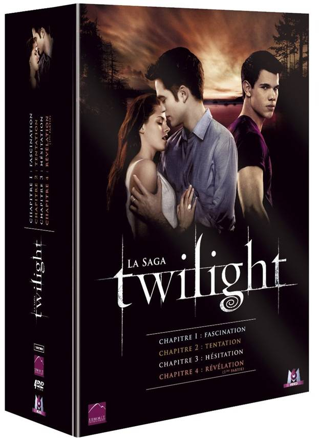 Twilight - La Tetralogie | Multi | Blu-Ray 1080p