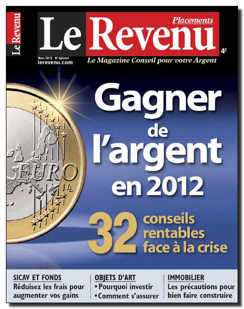 Le Revenu Placements N°182 - Mars 2012 [NEW/HQ/UL]