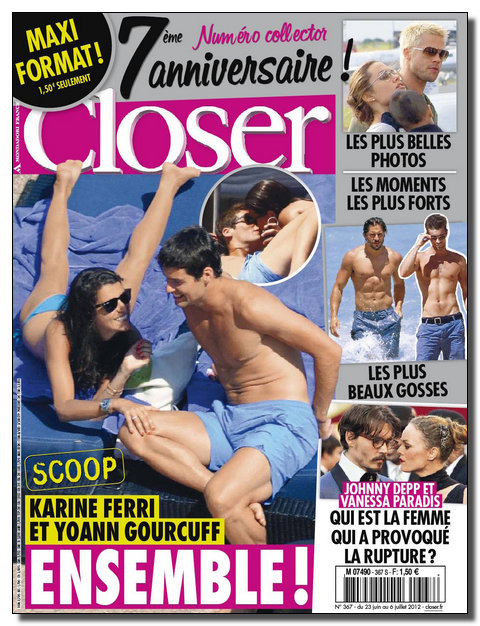 Closer N°367 - 23 au 29 Juin 2012  [New/Opti/SsTags/Multi]