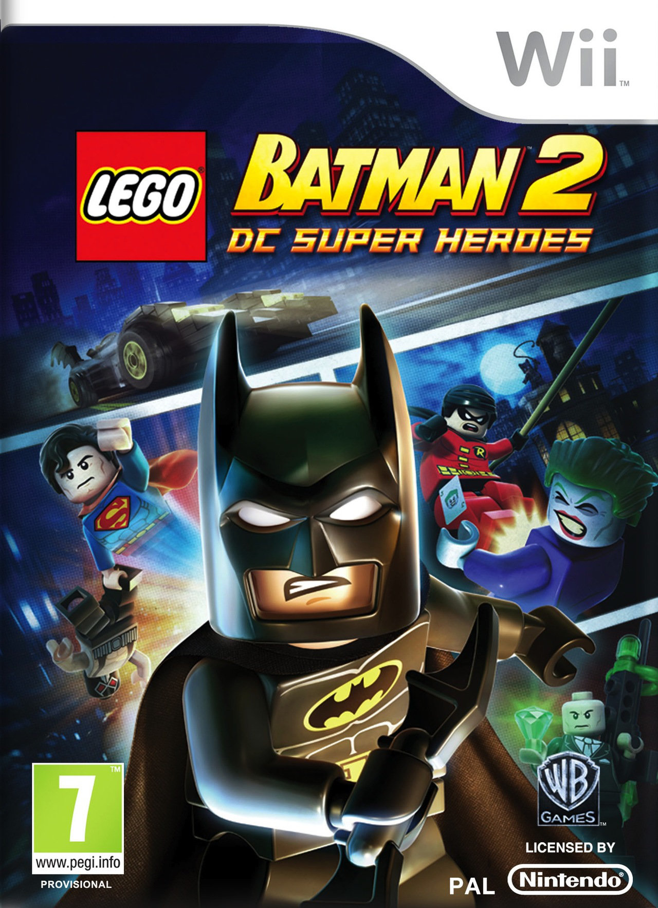 LEGO Batman 2 : DC Super Heroes [Wii USA]