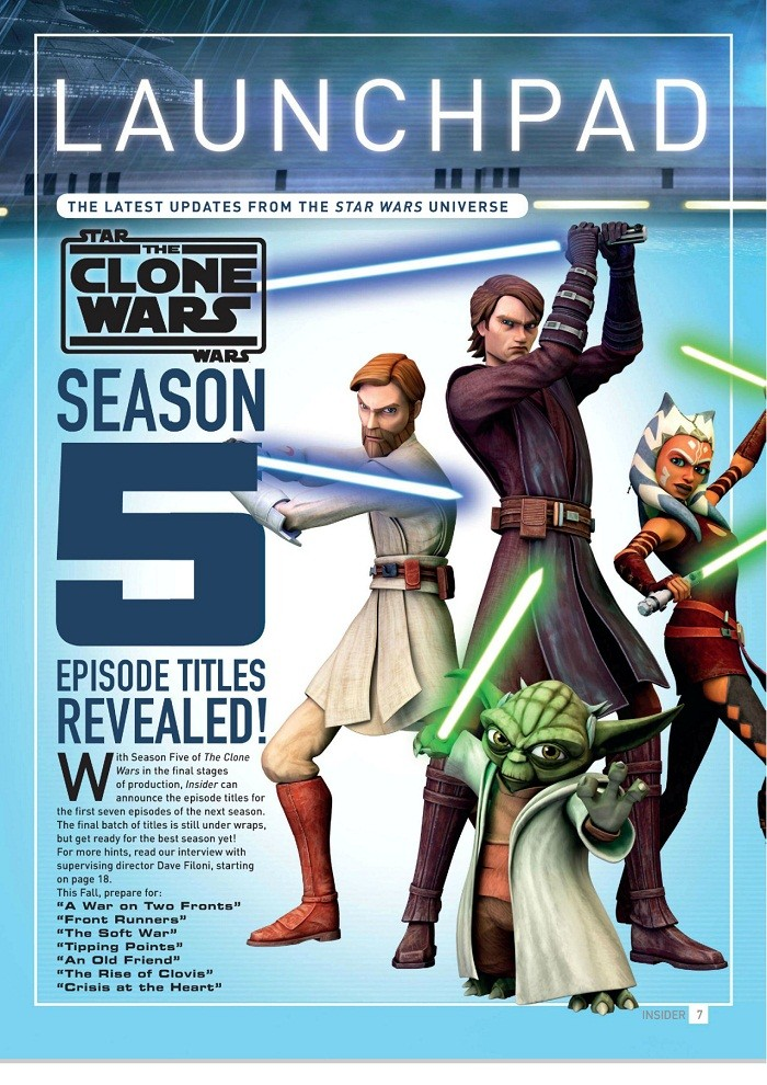 Star Wars: The Clone Wars [Saison 05][Vostfr] [E01 a 20/20] HDTV & HD  (S01-02-03-04-FRENCH Complet)