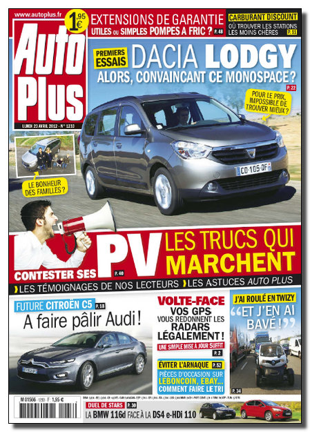 Auto Plus N°1233 - 23 au 29 Avril 2012 [NEW/SsTags/HQ/RG]