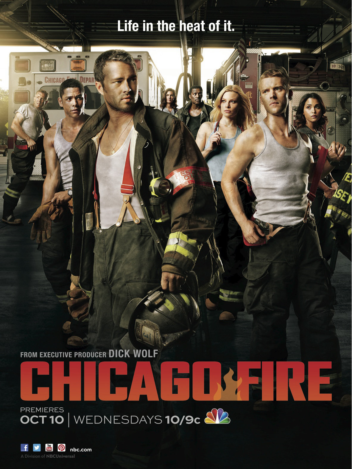 Chicago Fire  [Saison 01 FRENCH] [E01 a 24/24] DVDRIP+ BDRIP -HDTV & HD