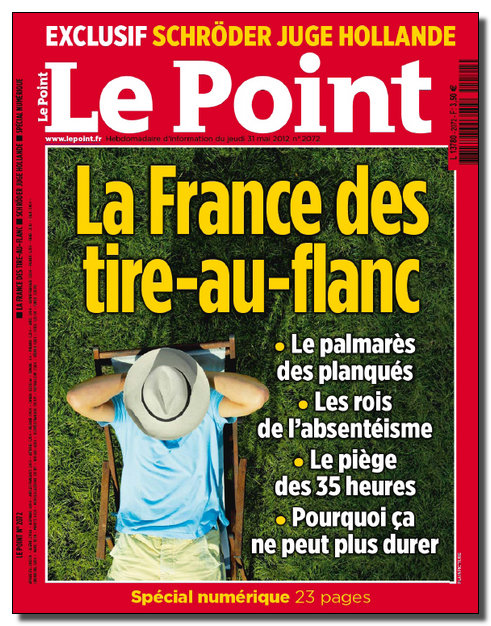 Le Point N°2072 - 31 Mai au 06 Juin 2012 [NEW/HQ/SsTags/MULTI]