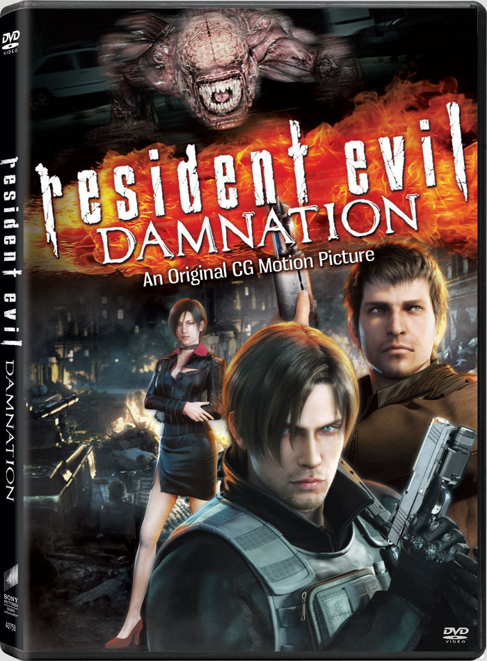 Resident Evil: Damnation (2012) [FRENCH] [BDRip 1Cd] + BDRIP AC3